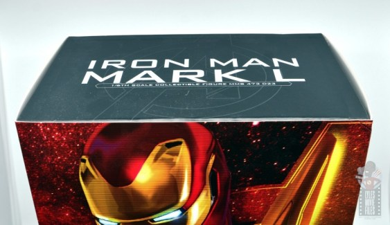 hot toys avengers infinity war iron man figure review - package top
