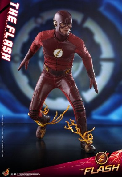 hot toys cw the flash figure - breaking
