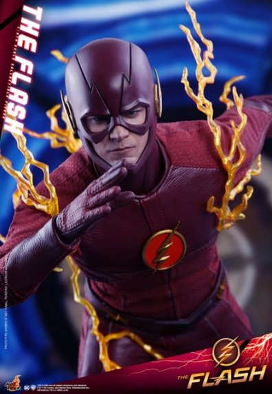 hot toys cw the flash figure - cw poster pose