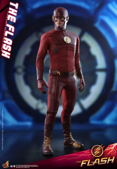 hot toys cw the flash figure - standing