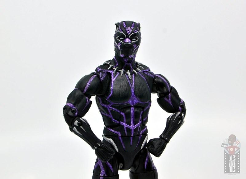 marvel legends black panther vibranium effect figure review -main pic