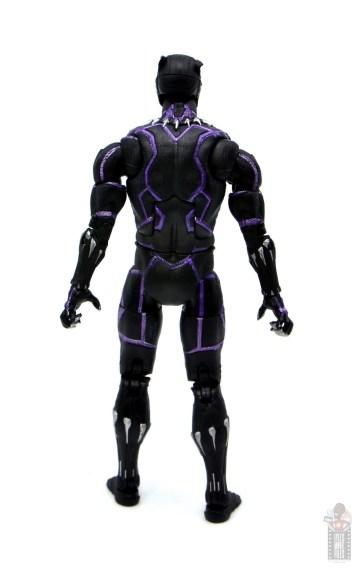 marvel legends black panther vibranium effect figure review - rear