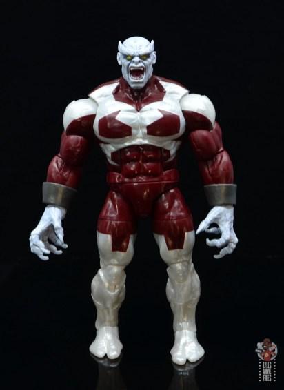marvel legends build a figure caliban figure review - front