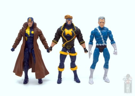 marvel legends havok and polaris figure review - havok scale with multiple man and quicksilver