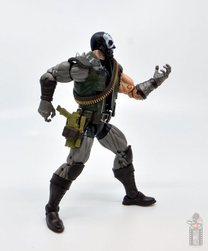 marvel legends skullbuster figure review - gun in holster