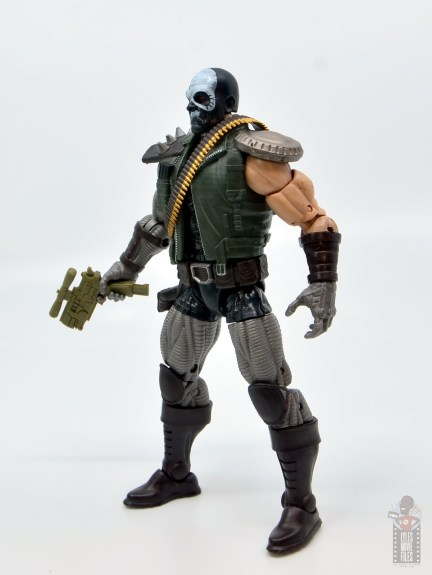 marvel legends skullbuster figure review - left side