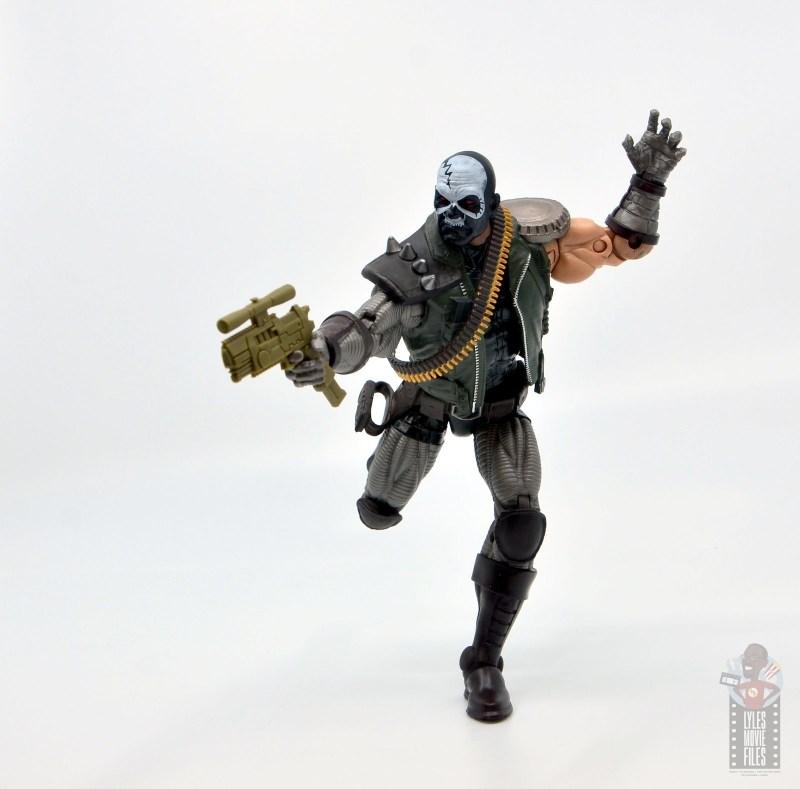marvel legends skullbuster figure review - on the run