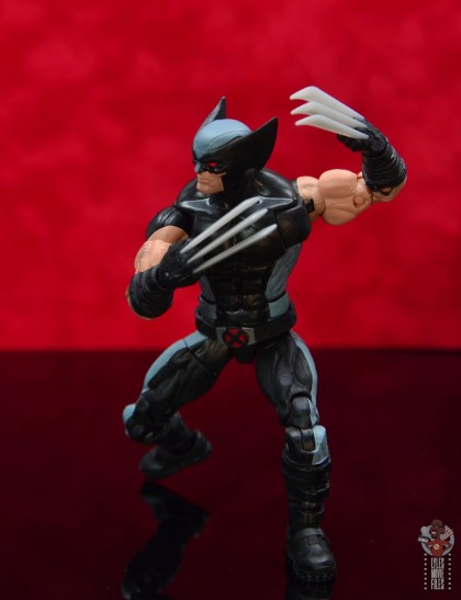 marvel legends x-force wolverine figure review - claws out