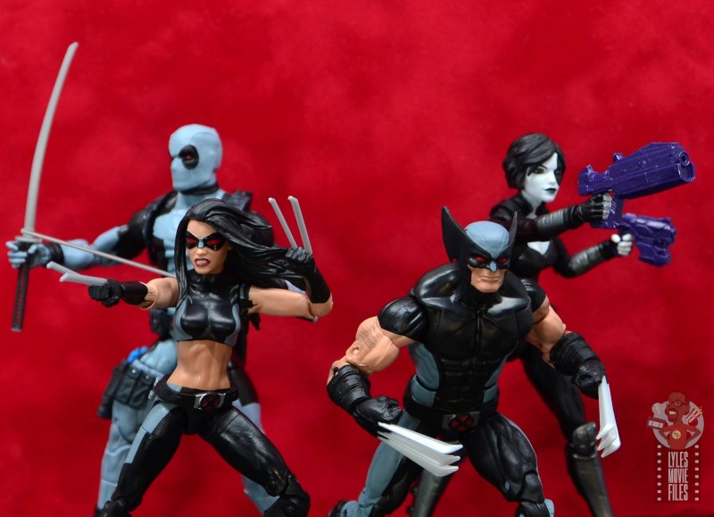 marvel legends x-force wolverine figure review -ready for battle with x-force