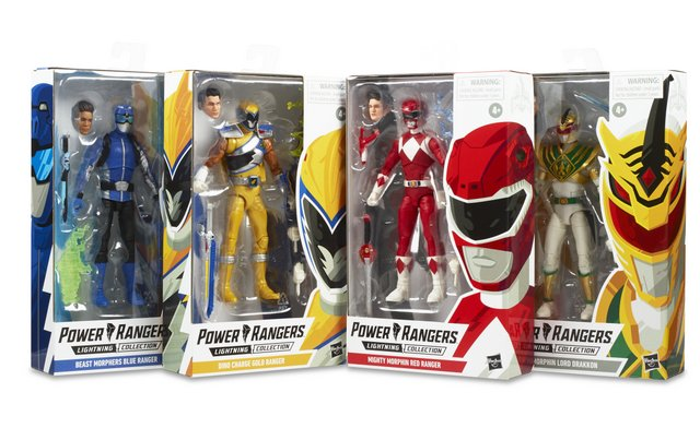 power rangers lightning collection wave 3 -