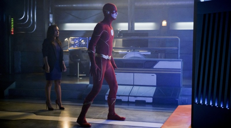 the flash into the void review - cecile and the flash