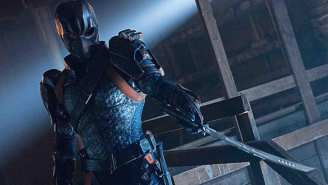 titans deathstroke review - deathstroke