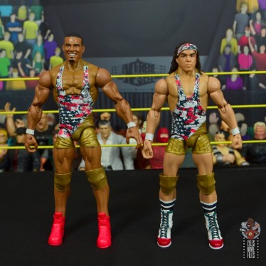 wwe elite american alpha figure review - front
