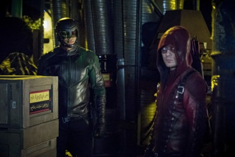 Arrow - prochnost review - Diggle and Roy