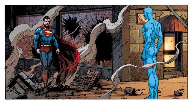 doomsday clock #12 - superman and doctor manhattan
