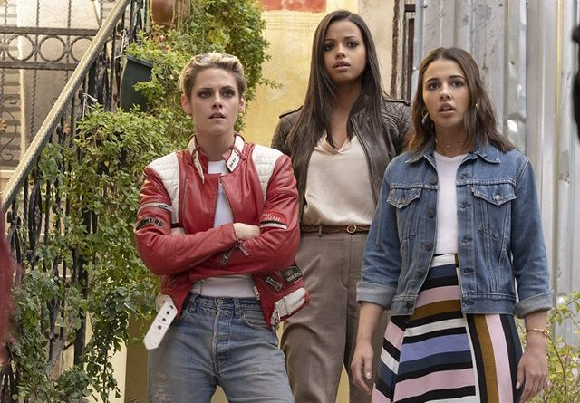 charlie's angels 2019 review - kristen stewart, ella balinska and naomi scott