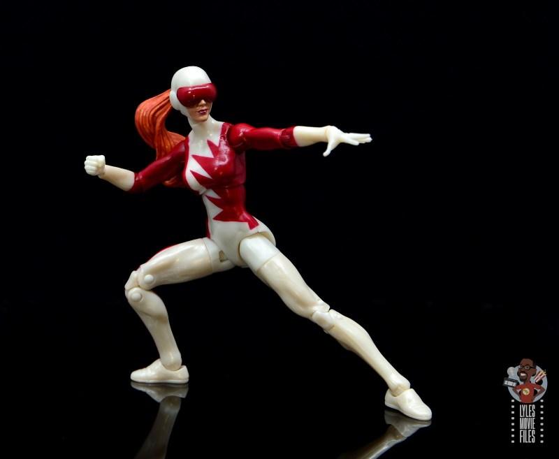 marvel legends alpha flight figure set review - vindicator figure -battle stance