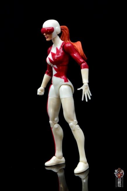 marvel legends alpha flight figure set review - vindicator figure - left side