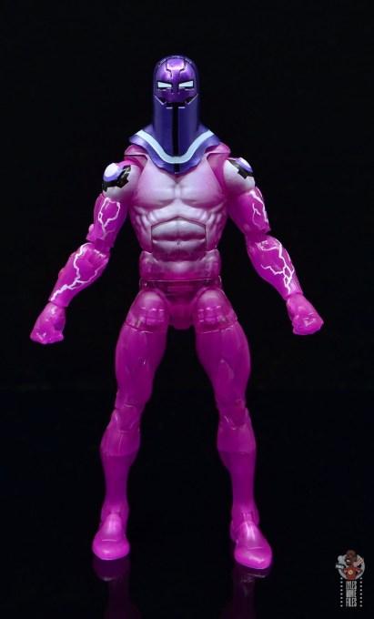 marvel legends living laser figure review - front