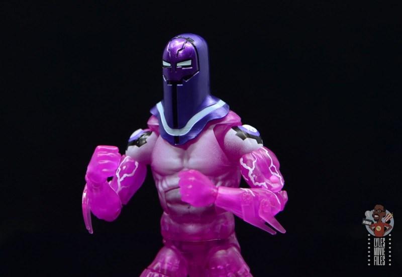 marvel legends living laser figure review - helmet detail