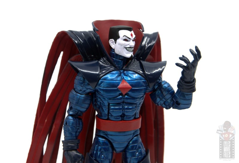 marvel legends mister sinister figure review - evil pose