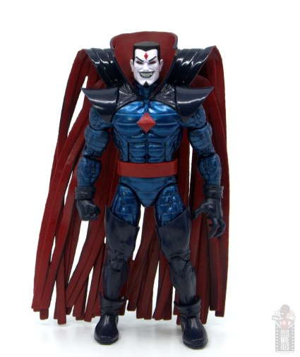 marvel legends mister sinister figure review - front