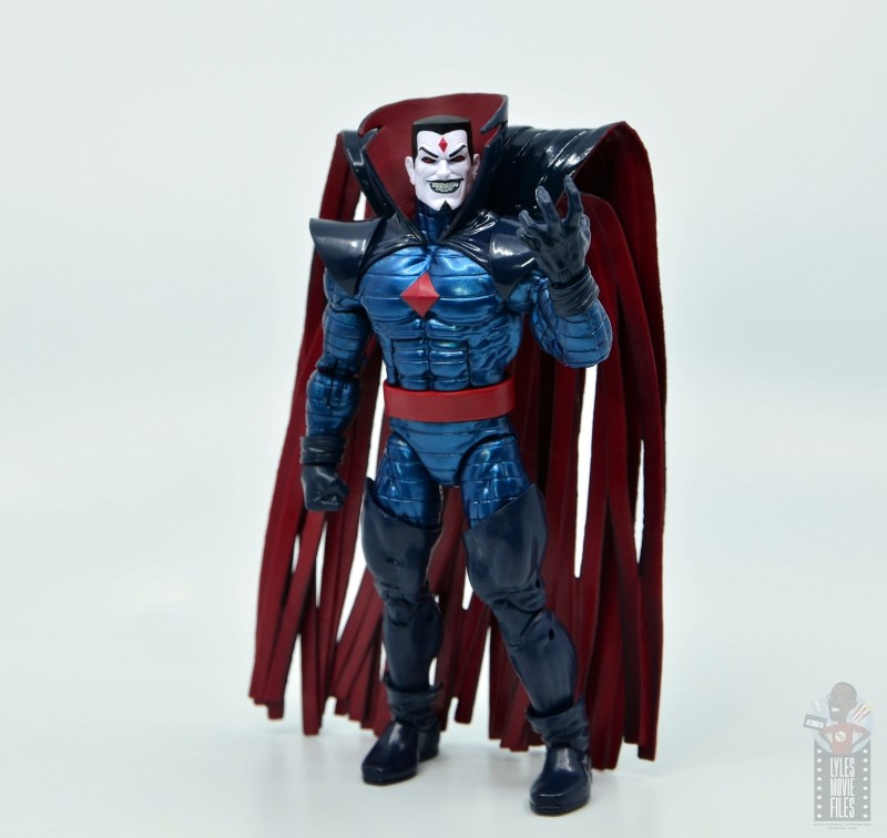 marvel legends mister sinister figure review - grasping hand up