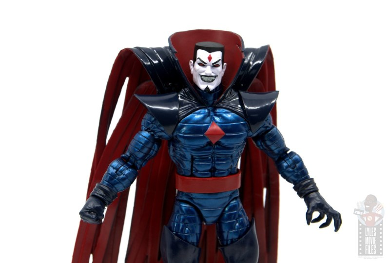 marvel legends mister sinister figure review - wide shot