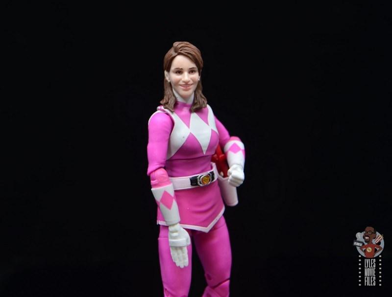 power rangers lightning collection pink ranger figure review -alternate head sculpt