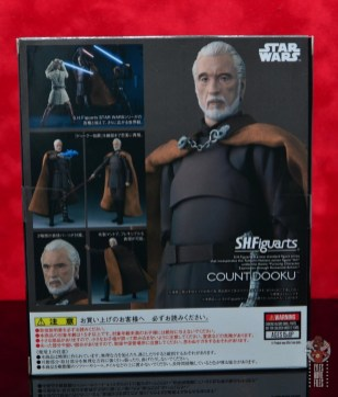 sh figuarts count dooku figure review -package rear