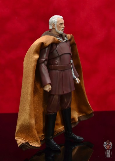 sh figuarts count dooku figure review -right side
