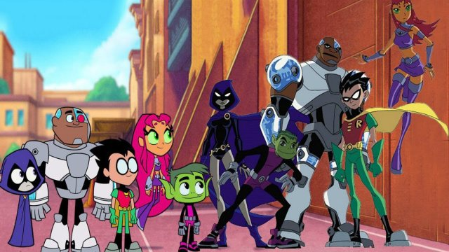 teen titans go vs teen titans movie review - titans combined