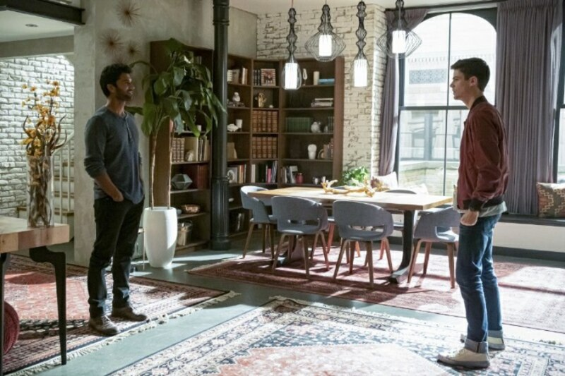 the flash - the last temptation of barry allen part 1 - ramsey and barry