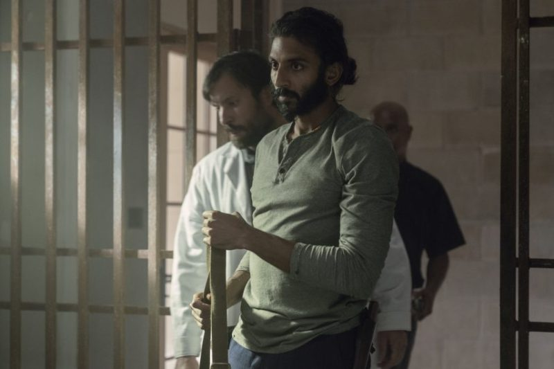 the walking dead open your eyes review - dante, siddiq and gabriel