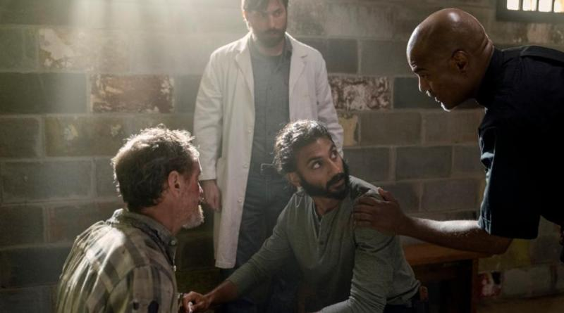 the walking dead open your eyes review - whisperer, dante, siddiq and gabriel