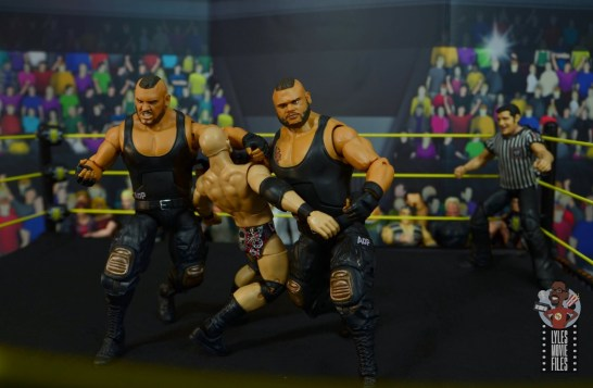wwe elite authors of pain figure review - double clothesline to ciampa