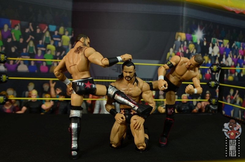 wwe elite undisputed era figure set review - double kicks