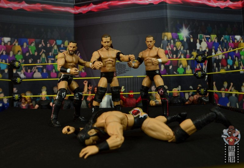 wwe elite undisputed era figure set review - laying out drew mcintyre