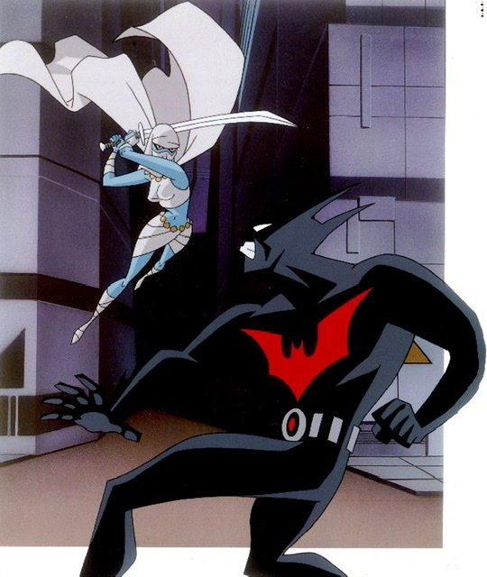 Batman Beyond complete series - batman Beyond in action