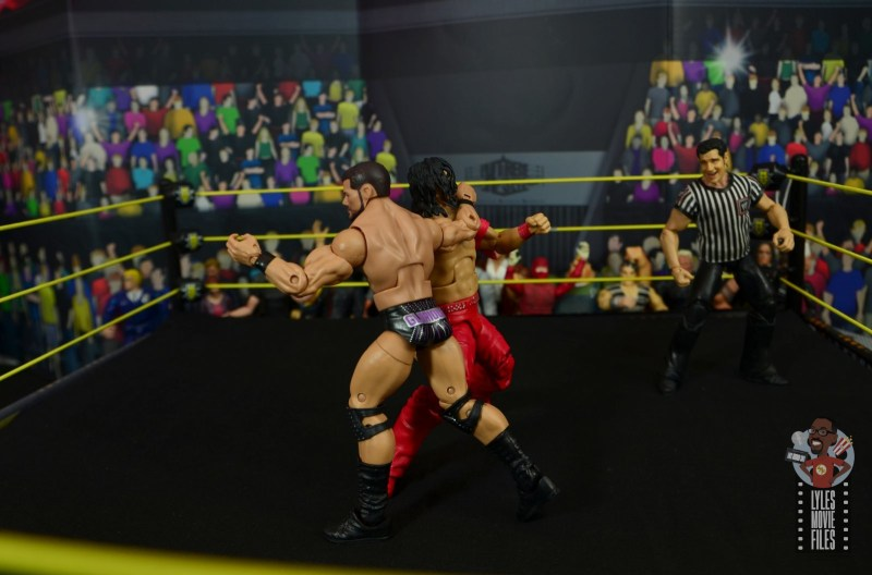 WWE Entrance Greats Bobby Roode figure review - clothesline to nakamura