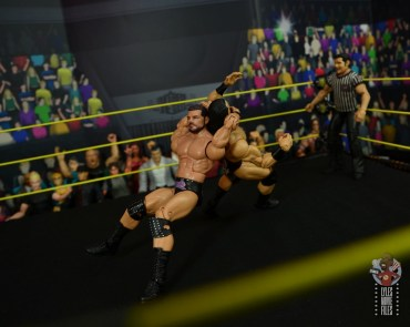 WWE Entrance Greats Bobby Roode figure review - hangman's neckbreaker to drew mcintyre