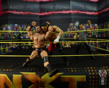 WWE Entrance Greats Bobby Roode figure review - stunner on ropes