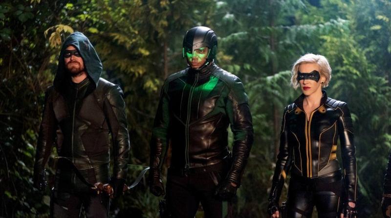 arrow - purgatory review - green arrow, diggle and black siren