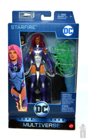 dc multiverse starfire figure review - package front