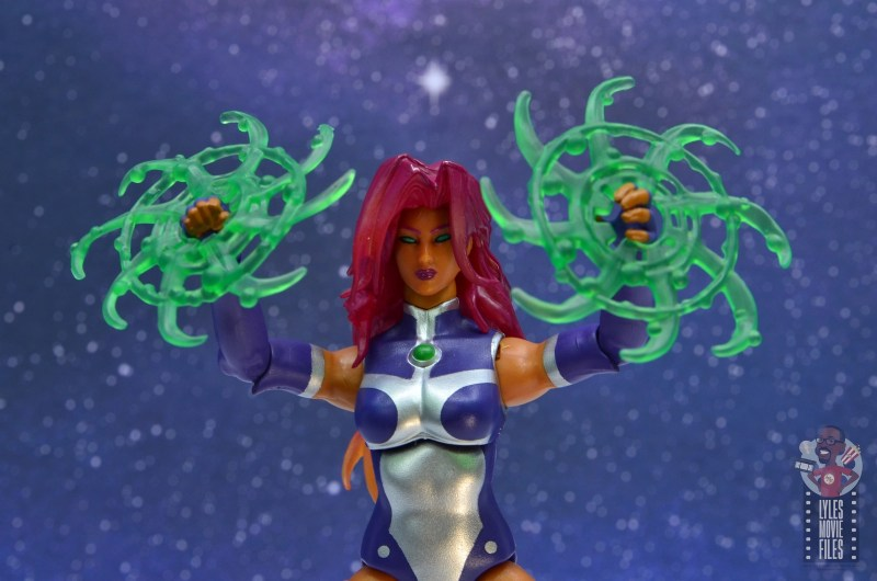 dc multiverse starfire figure review - power effects