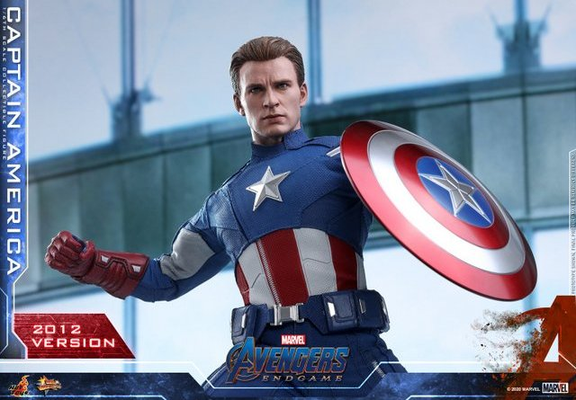 hot toys avengers endgame captain america 2012 figure -main pic