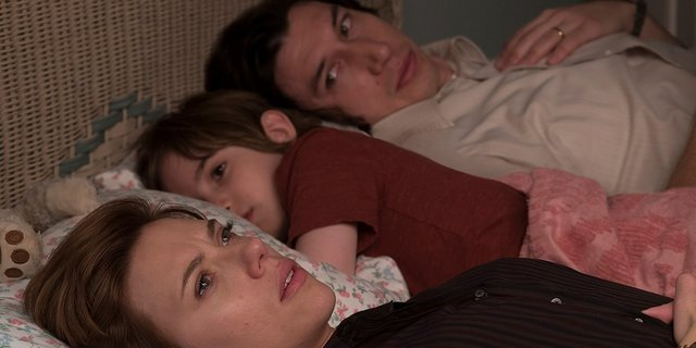 marriage story review - nicole, henry and charlie