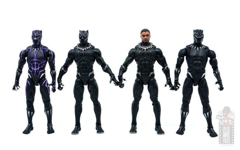 marvel legends black panther civil war 2019 figure review -with infinity war, civil war and and endgame black panther figures