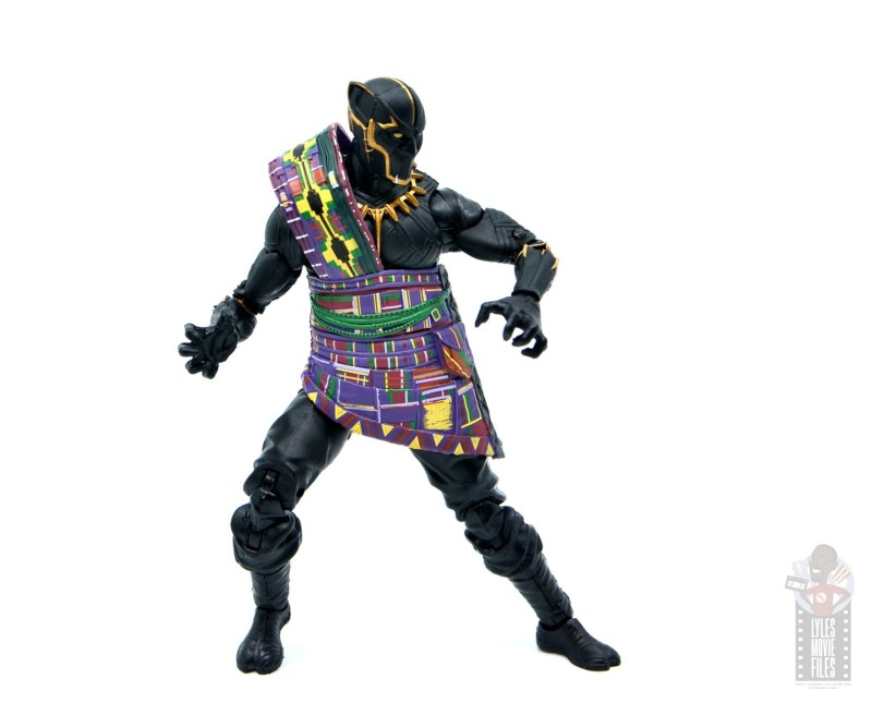 marvel legends black panther t'chaka figure review - deep stance