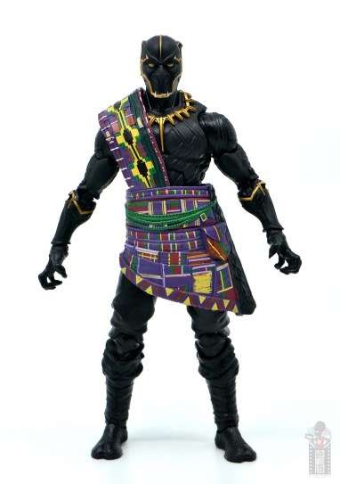 marvel legends black panther t'chaka figure review - front